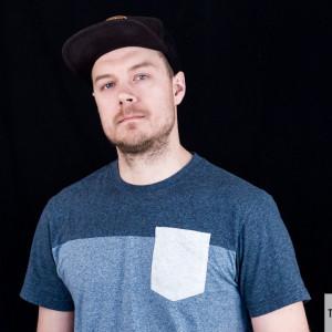 Mattias Edfast från musikföreningen Up Sweden.