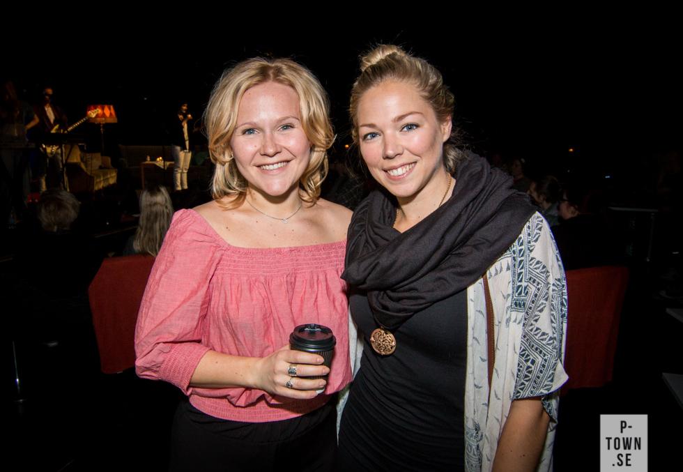 I publiken hittade vi Malin Morin och Kajsa Eriksson från dansgruppen Vaja. Alla vimmelbilderna finns på länken.