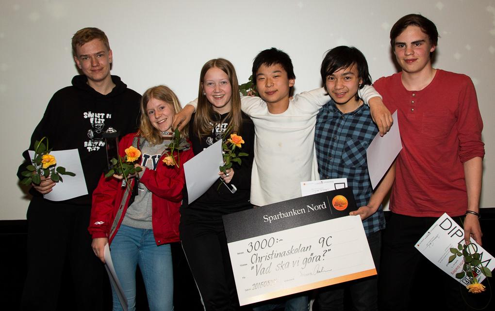 Fler vinnare: Anderas Lindblom, Ester Marklund, Mica Engström, Benjamin Andersson, Kasper Pelli & Martin Granberg.