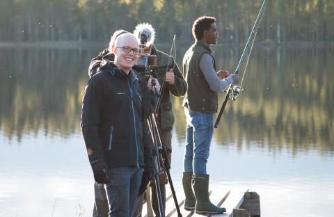 Anders Westergren har skrivit manus till den kommande kortfilmen om Flyktingvän.