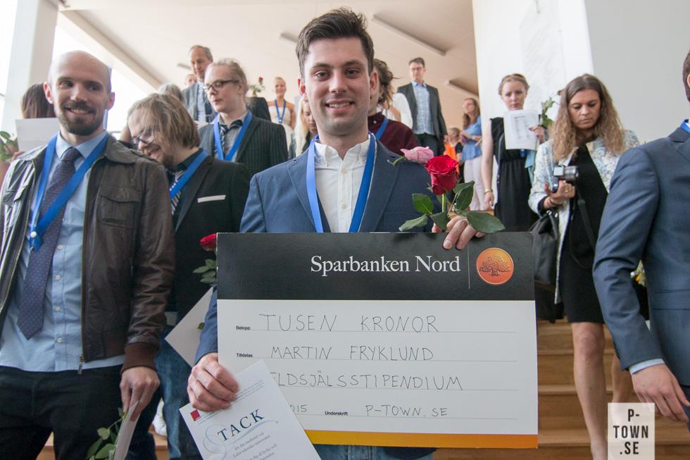 Årets eldsjälsstipendiat är Martin Fryklund.