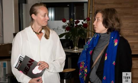 Innan föreställningen fick Katja Seitajoki, projektledare för Dansnät Sveriges samproduktion JEAN, berätta om bakgrunden till Jean.