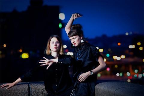 Erika Pettersson Pekula och Disa Krosness. Fotograf: Michael Melanson