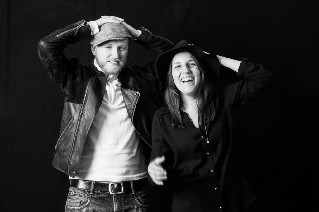 Det blir lätt såhär när Gustav och Michaela hänger. Oförutsedda skrattanfall alltså.