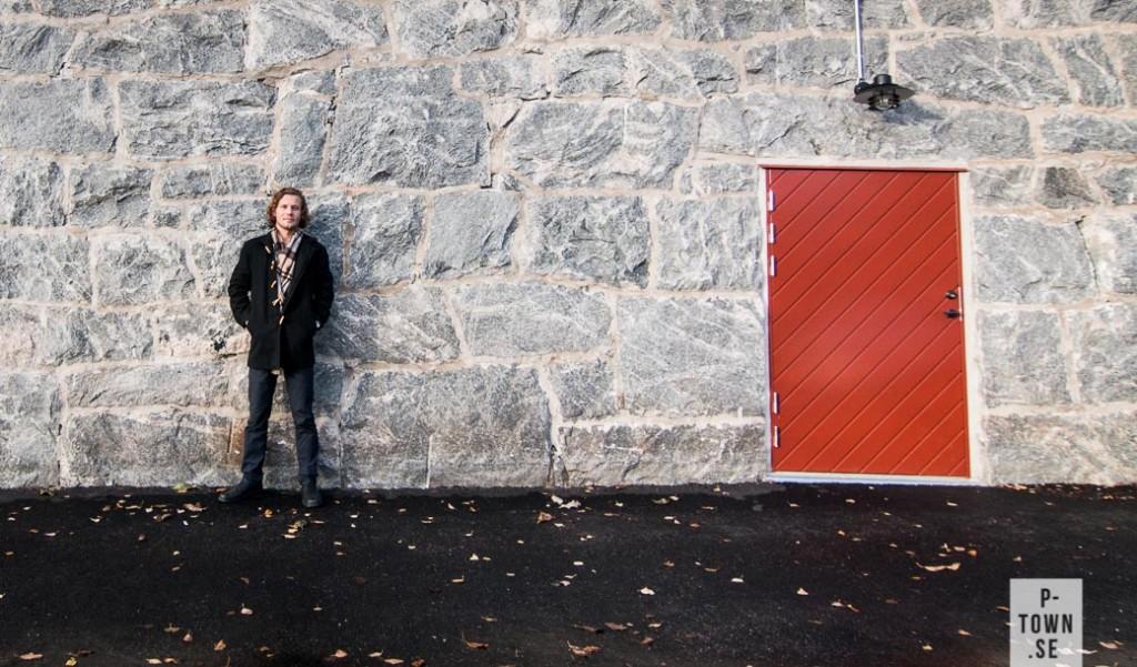 David Wellborg utanför Bryggerikällaren.