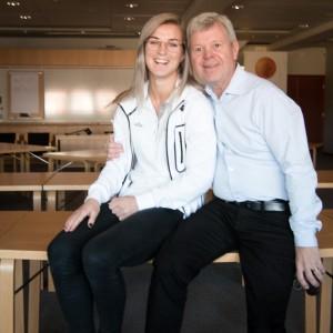 Emelie Lövgren och Kjell Åke Nilsson.