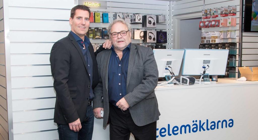 VD Christer Öhman och grundaren Svante Blomqvist.