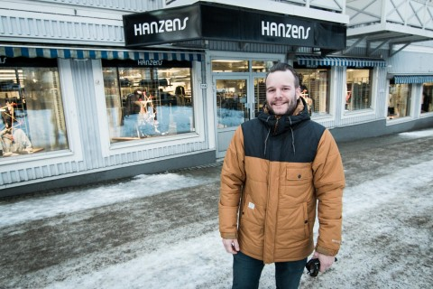 Daniel Nilsson tillträder som butikschef på Hanzens i februari.
