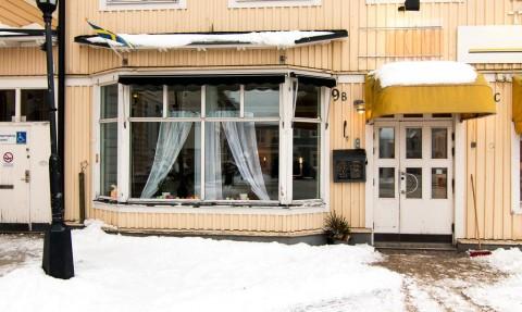 I gamla Chiliköket där idag entreprenören Li Skarin driver ungdomscafé kan snart studenterna umgås om alla planer går i lås.