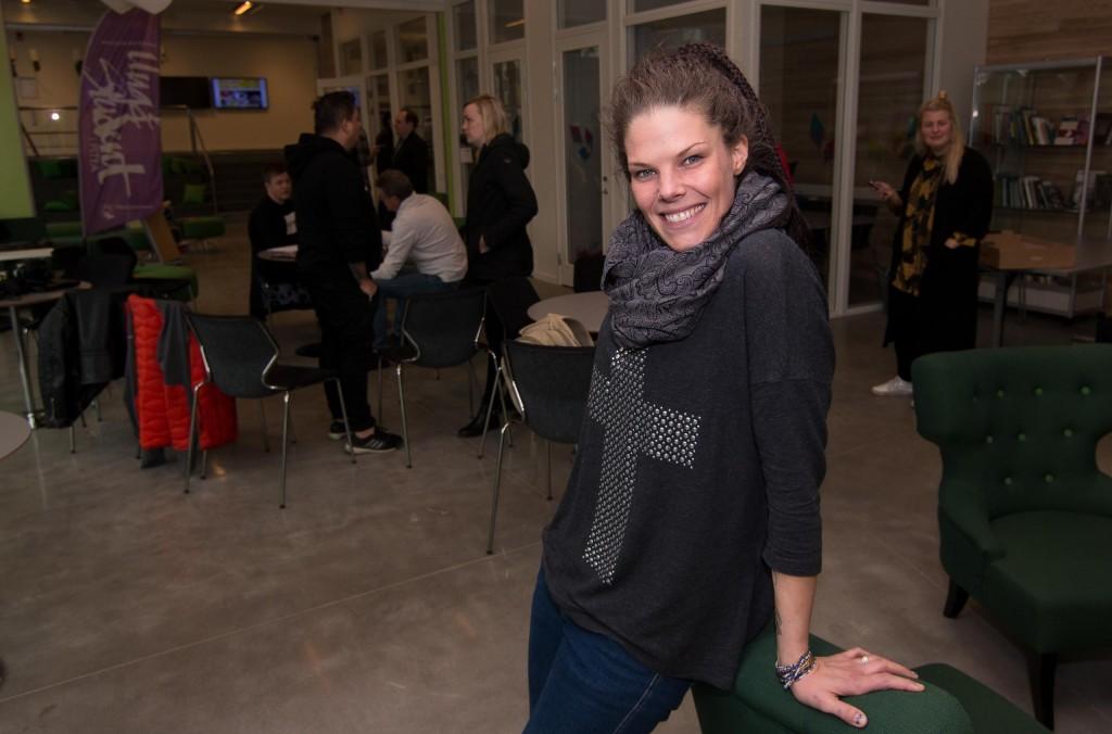 Jenni Lindberg projektleder Piteåtorget som i år satsar extra mycket på dans.