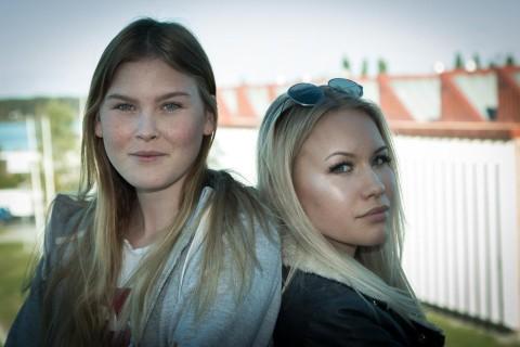 Lisa lundberg och Agnes Hansius från elevkåren har stora planer för class of 98.