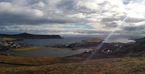 Lerwick, Shetlandsöarna.