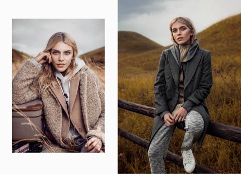 En arbetsdag för Sanna kan ofta involvera modellfotograferinar för olika magasin. Här en story för Plaza Kvinna.